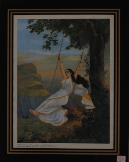 MOHINI ON SWING